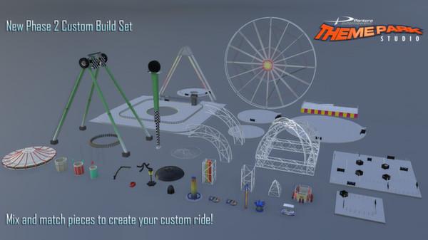 скриншот Theme Park Studio 3