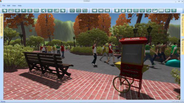 скриншот Theme Park Studio 4