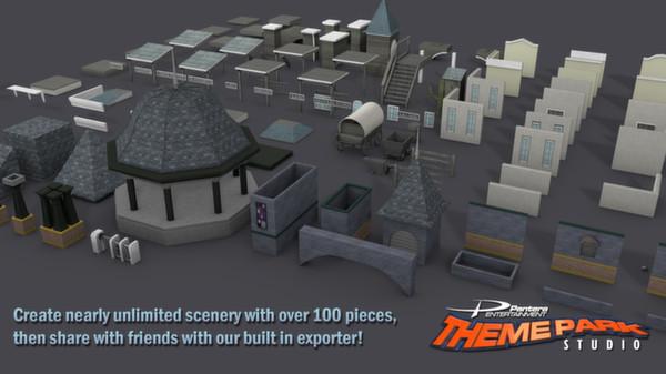 скриншот Theme Park Studio 5