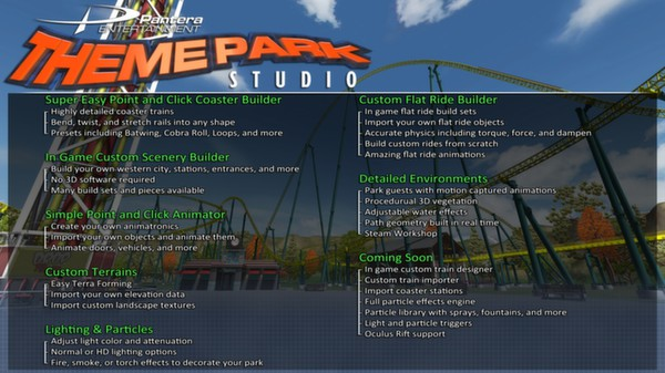 скриншот Theme Park Studio 2