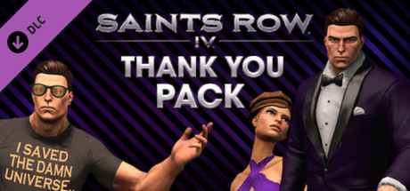 View Saints Row IV - Thank You Pack on IsThereAnyDeal