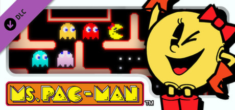 PAC-MAN MUSEUM - Ms. PAC-MAN DLC