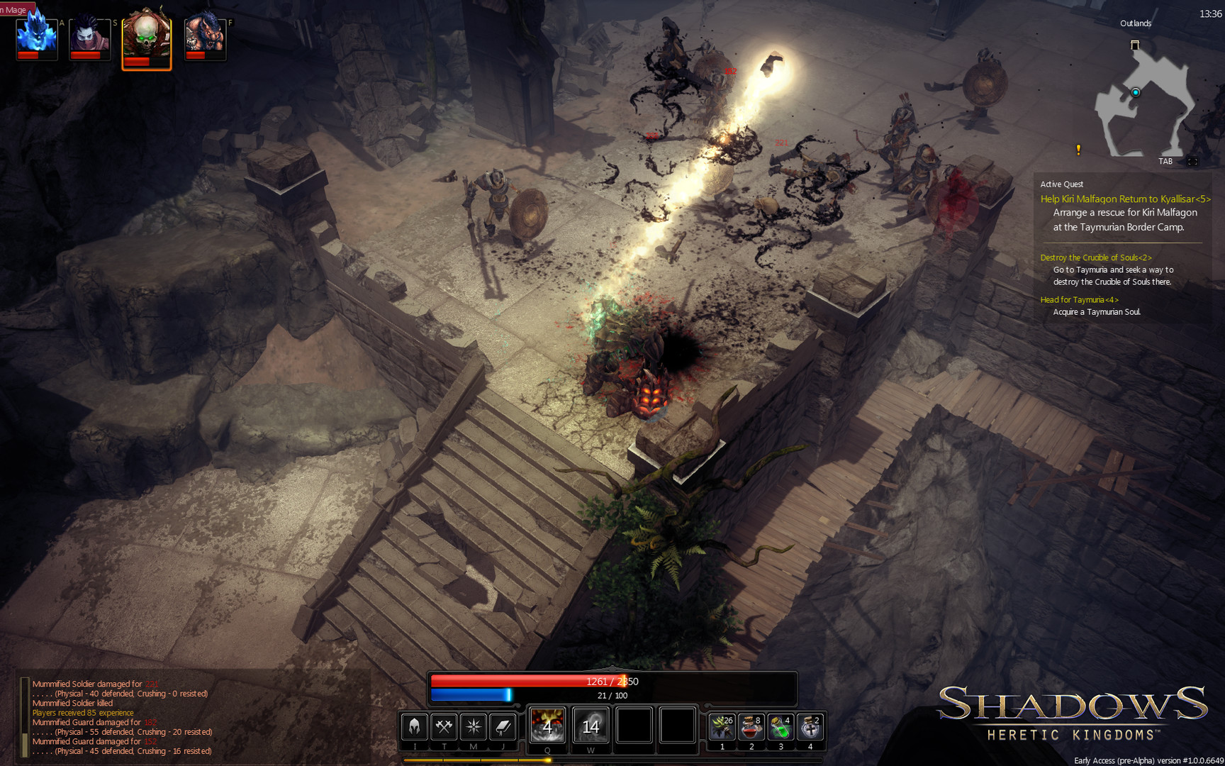 Shadows heretic: kingdoms [steamrip] (2014/pc/rus) скачать торрент.