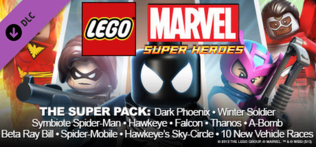 steam lego marvel super heroes dlc super pack