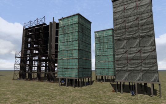 скриншот Construction Scenery Pack 3