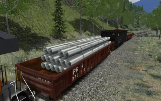 скриншот PRR Wagon Pack 01 0