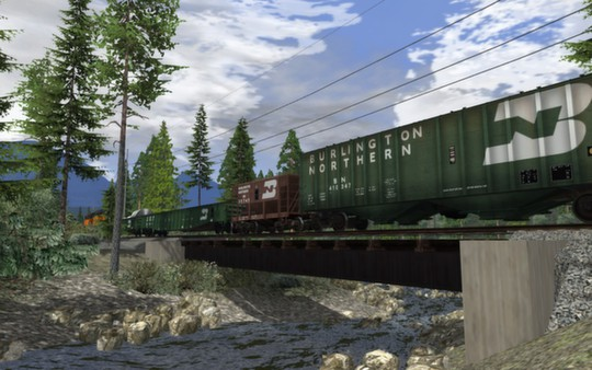 скриншот BN Wagon Pack 01 0