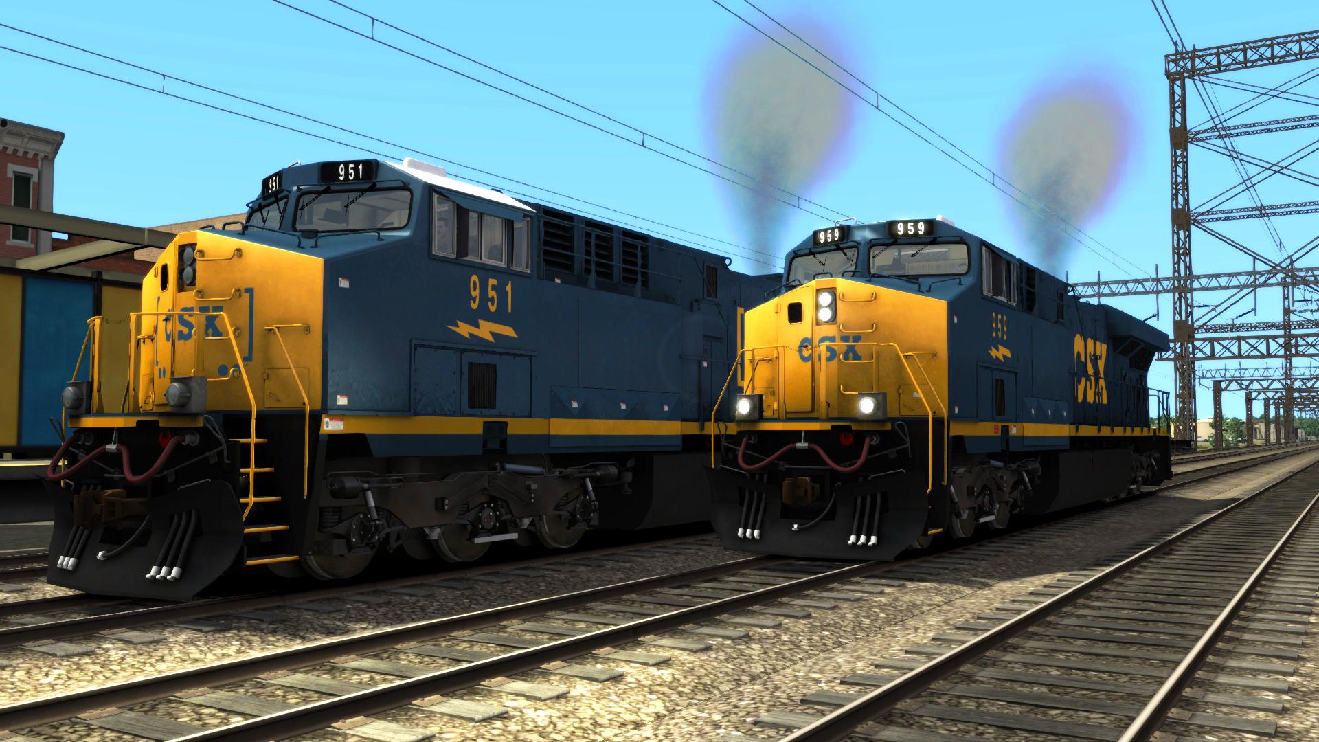 Pre Owned Trucks >> Official RailWorks Website | RailSimulator.com | Store | CSX ES44AC Add-on Livery