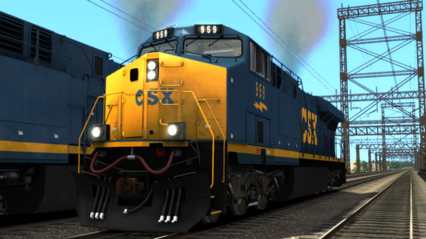 CSX ES44AC Add-on Livery