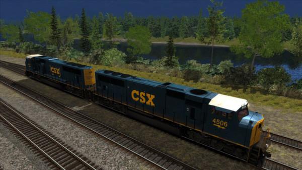 CSX SD70MAC Add-on Livery