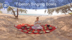 Tibetan Singing Bowls | VR Sound Therapy | 360° Video | 6K/2D