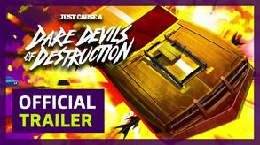 PEGI EN - JC4 DLC Dare Devils trailer