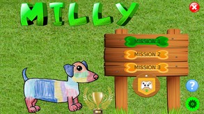 Milly the dog video