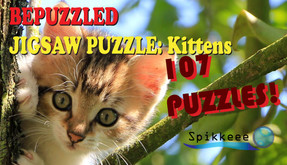 Bepuzzled Kittens Jigsaw Puzzle video