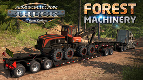 American Truck Simulator - Forest Machinery (DLC) video
