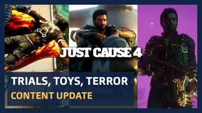 PEGI EN - Trials Toys and Terror