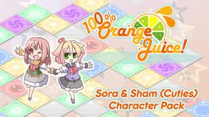 100% Orange Juice - Sora & Sham (Cuties) Character Pack (DLC) video