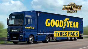 Euro Truck Simulator 2 - Goodyear Tyres Pack (DLC) video