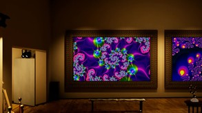 Fractal Gallery VR video