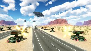 Inbound UFO video