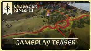 Crusader Kings III Gameplay Teaser
