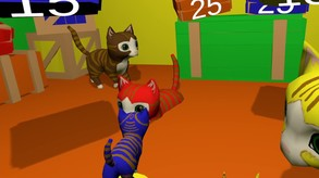 PURRfection!  The cat tossing game!!