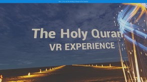 HOLY QURAN VR EXPERİENCE