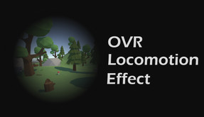 OVR Locomotion Effect