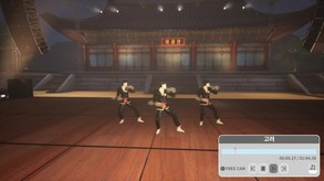 Taekwondo Demonstration Team Simulator