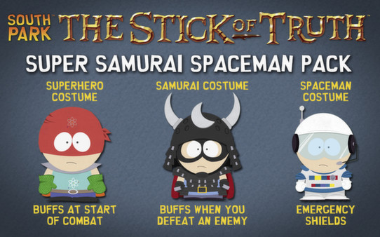 скриншот South Park: The Stick of Truth - Super Samurai Spaceman Pack 0