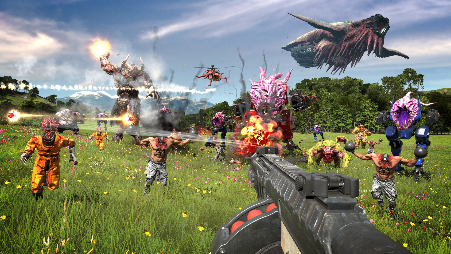 - Serious Sam 4 Revives Over-the-top FPS Series on August 2020