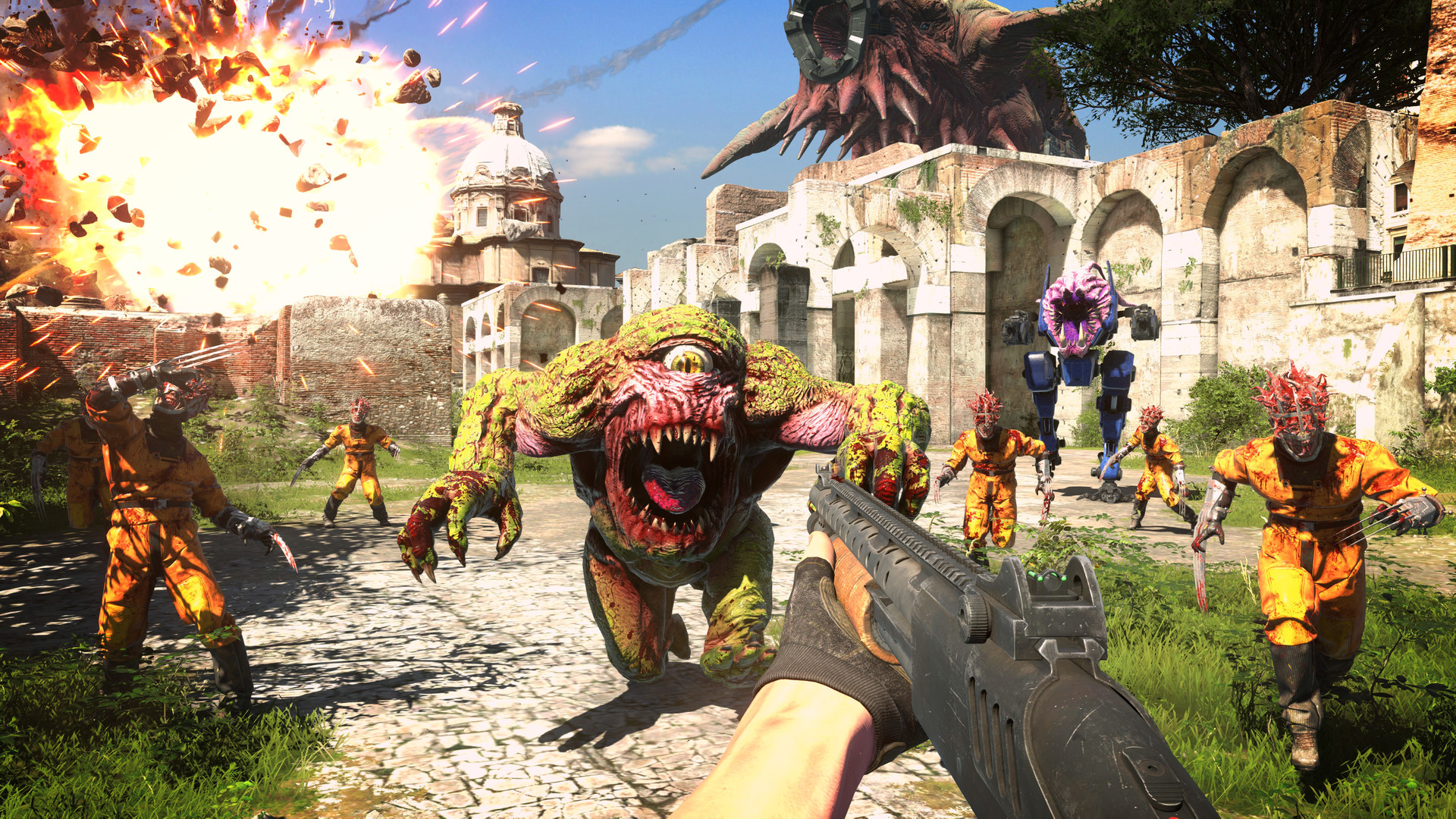 Pre-purchase Serious Sam 4 on Steam