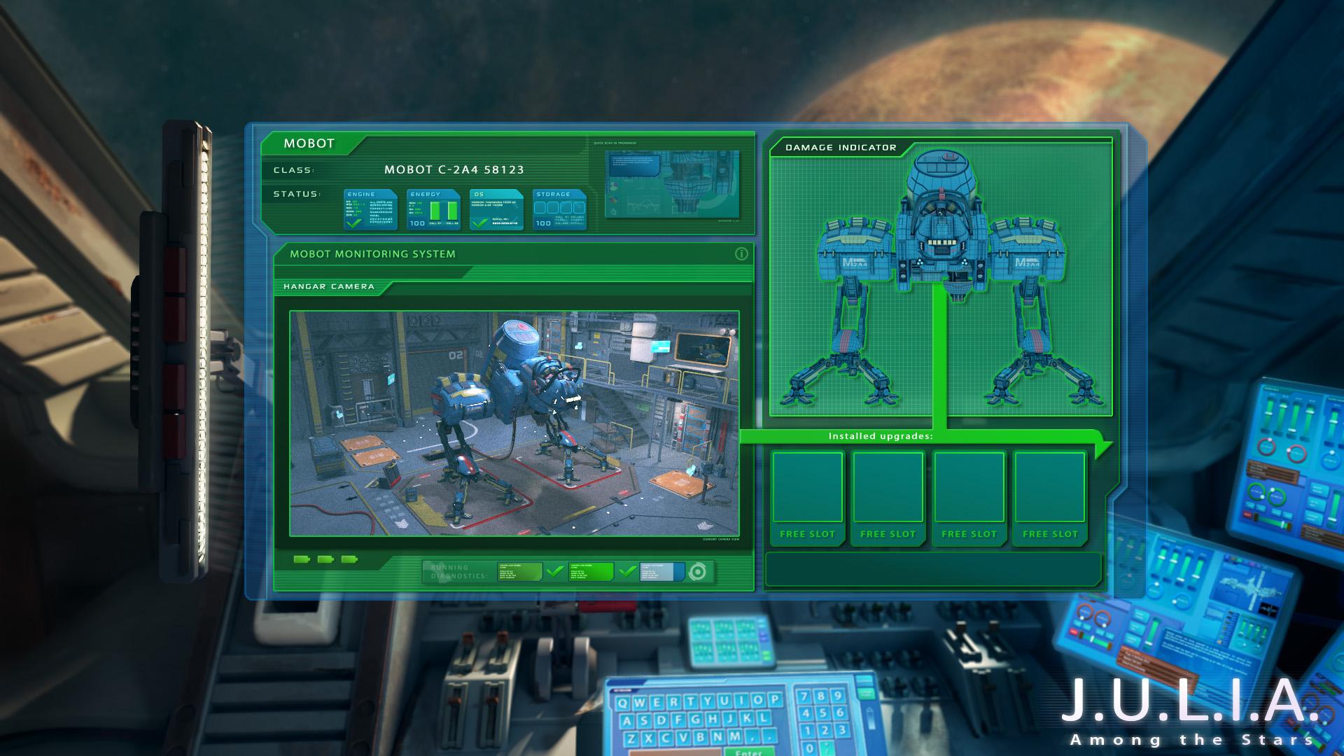 J.U.L.I.A.: Among the Stars screenshot 1