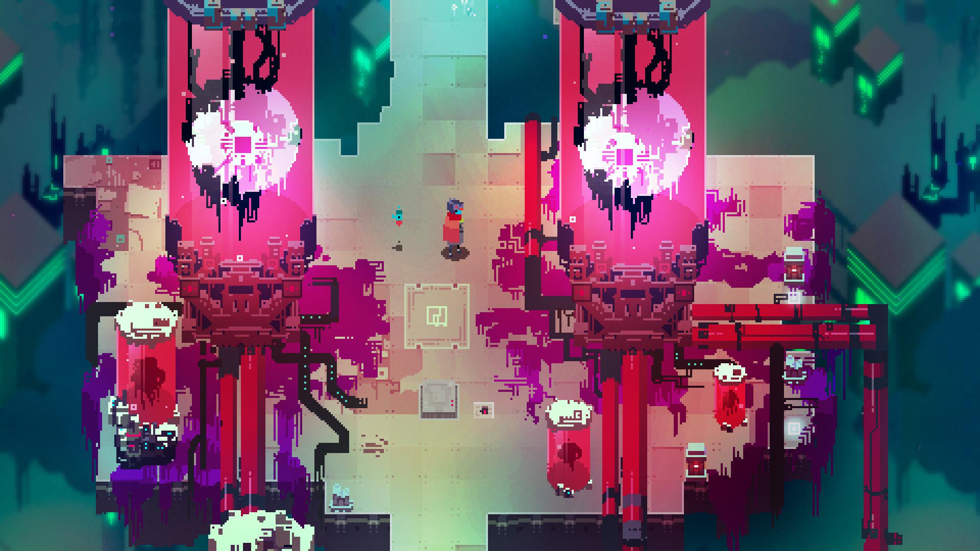 Screenshots of Hyper Light Drifter PC Game