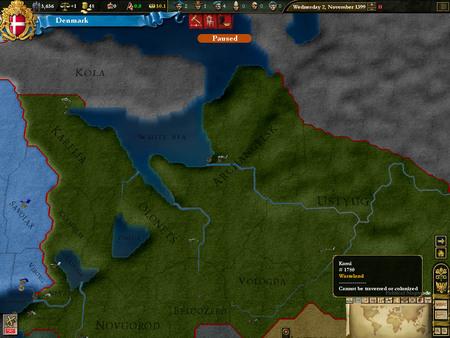 Europa Universalis III: Heir to the Throne (DLC)