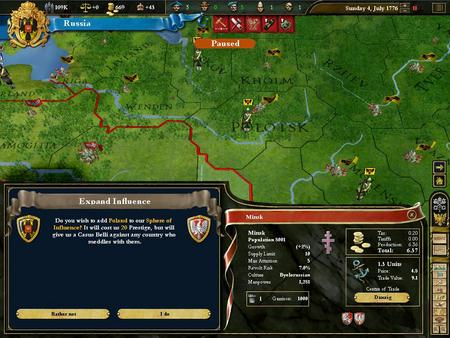 Europa Universalis III: Heir to the Throne (DLC)