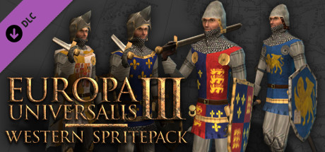 Купить Europa Universalis III: Western - AD 1400 Spritepack (DLC)