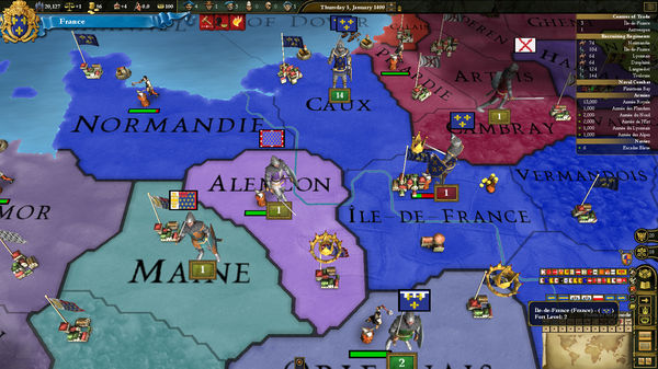 Europa Universalis III: Western - AD 1400 Spritepack (DLC)