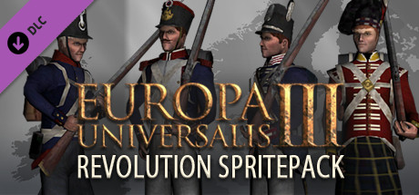 Купить Europa Universalis III: Revolution SpritePack (DLC)