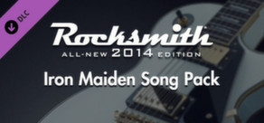 Rocksmith 2014 - Iron Maiden Song Pack cover art
