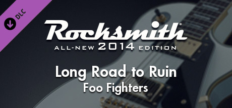 "Rocksmith® 2014 – Foo Fighters - ""Long Road to Ruin"""