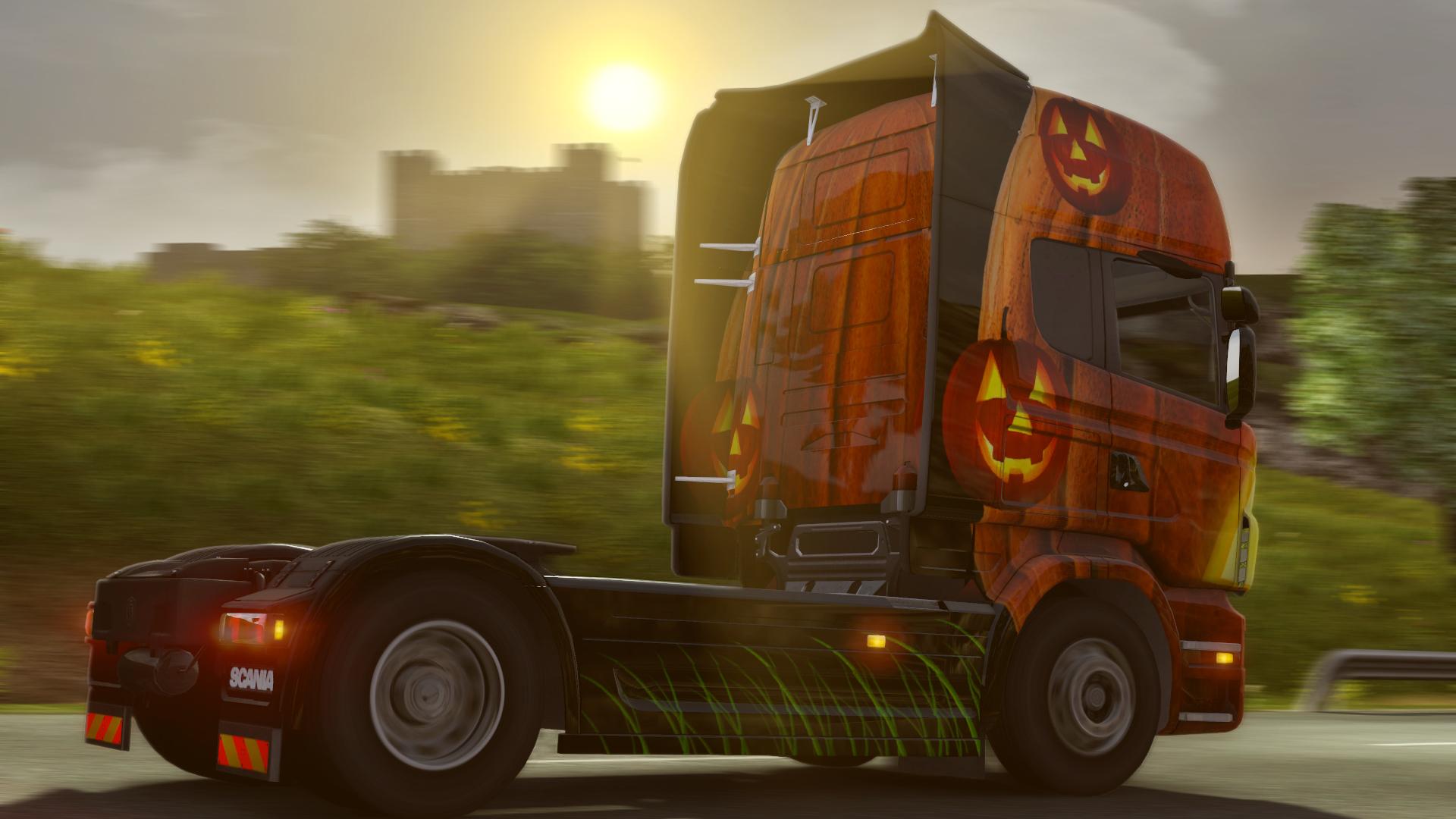 euro truck simulator 2 halloween paint jobs pack on steam. Black Bedroom Furniture Sets. Home Design Ideas