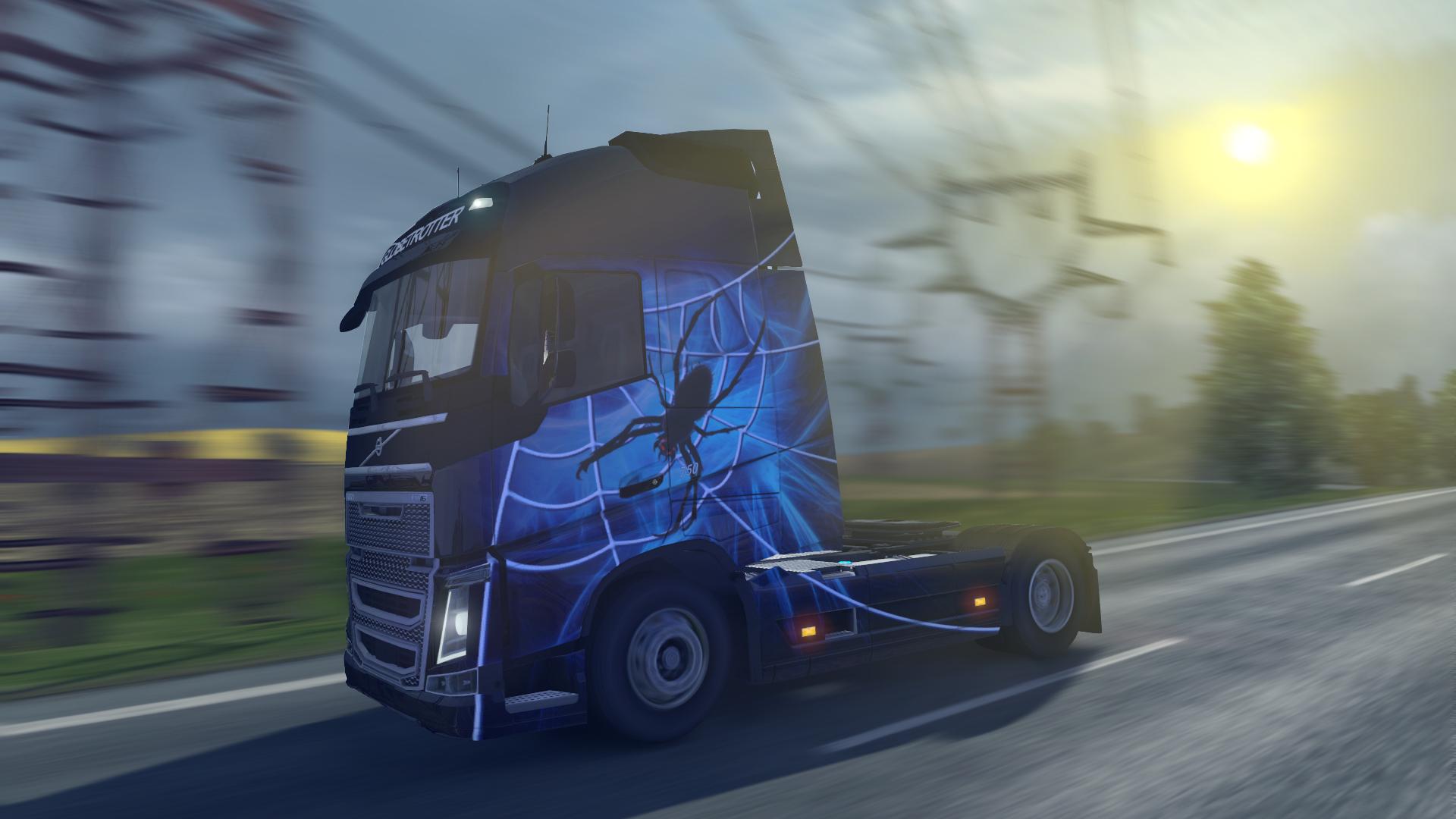 Save 50 On Euro Truck Simulator 2 Halloween Paint Jobs Pack On Steam