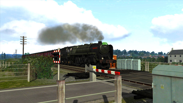 скриншот Train Simulator: BR 6MT Clan Class Loco Add-On 2