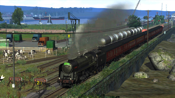 скриншот Train Simulator: BR 6MT Clan Class Loco Add-On 1