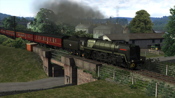 скриншот Train Simulator: BR 6MT Clan Class Loco Add-On 0