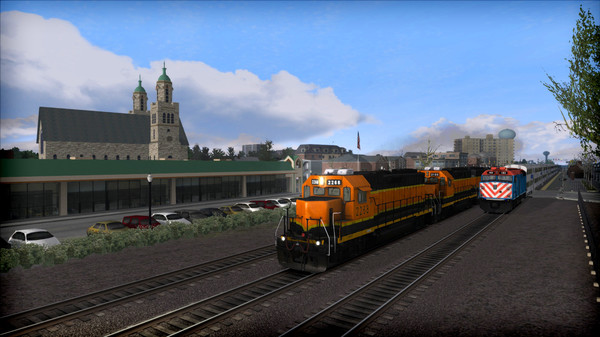 скриншот Train Simulator: The Racetrack: Aurora - Chicago Route Add-On 0