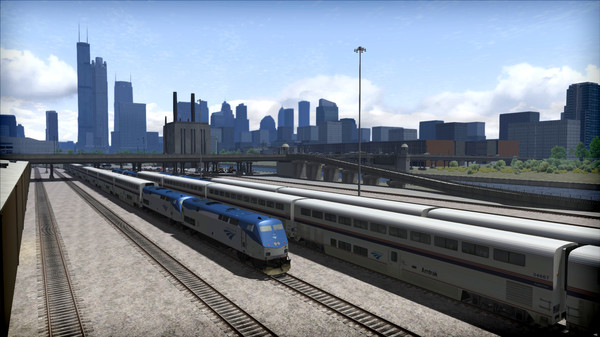 скриншот Train Simulator: The Racetrack: Aurora - Chicago Route Add-On 1