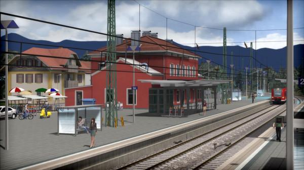 скриншот Train Simulator: Munich - Garmisch-Partenkirchen Route Add-On 1