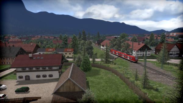 скриншот Train Simulator: Munich - Garmisch-Partenkirchen Route Add-On 0